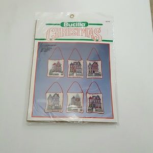 Bucilla 82749 Christmas Counted Cross Stitch Kit